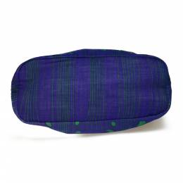 Prada Blue Canvas Tessuto Stampato Tote Bag 218256