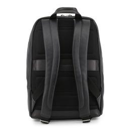 Piquadro Black Leather Backpack 157849