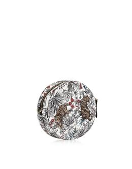 Swing Mini - Круглая Сумка Через Плечо с Принтом Джунгли Furla 1045289 TPE-TONI PETALO