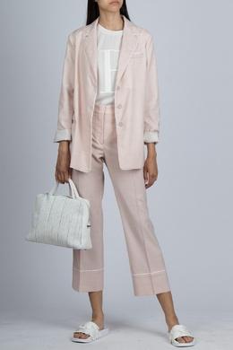 Розовый костюм в пижамном стиле Fabiana Filippi 2658160832