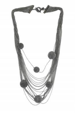 Металлическое колье с шарами Fabiana Filippi 2658160900