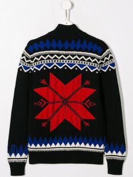 Ralph Lauren Kids - свитер вязки интарсия 36633395660398000000