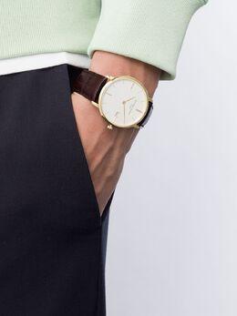 Frederique Constant - наручные часы Slimline Midsize Date 38.4 мм 06V5S595365906000000