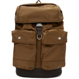 Boss Brown Meridian Backpack 192085M16600101GB