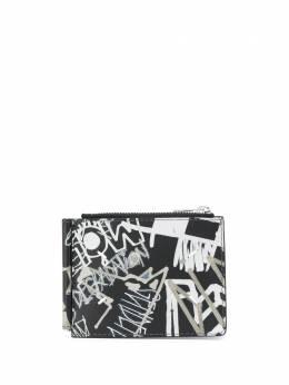 Maison Margiela - кошелек для монет с принтом граффити UI6553P0953956660590