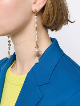 Vivienne Westwood - Orb drop earrings 06635956398930000000