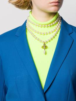 Vivienne Westwood - layered pearl necklace 36669956398990000000