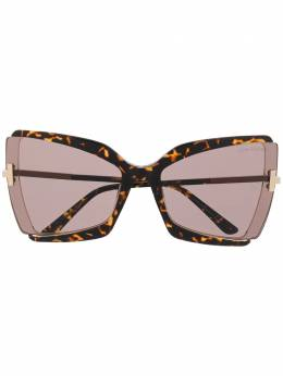 Tom Ford Eyewear oversized cat eye sunglasses FT766