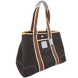 Coach Black/Brown Nylon Tote Bag 238377