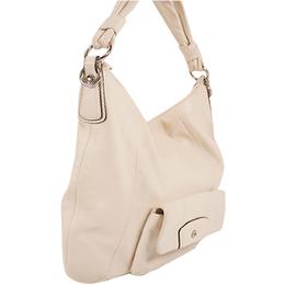 Coach Ivory Leather Shoulder Bag 238355