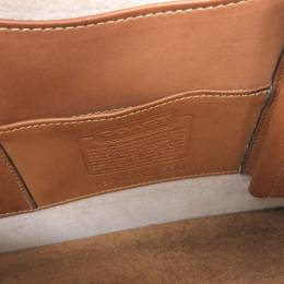 Coach Brown Leather Briefcase 238402