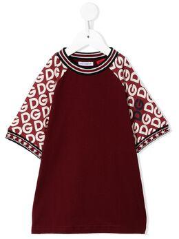 Dolce & Gabbana Kids - футболка с логотипом TAOG3TXE956836580000