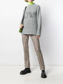 Off-White - OW logo knitted jumper E606F99F986999669956