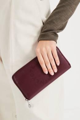 Бордовый кошелек из эко-кожи Stella McCartney 193161142