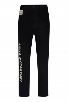 Серые джинсы с принтом Stella McCartney 193161091