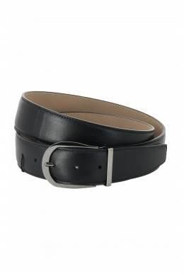 Черный кожаный ремень Moreschi 2315161462