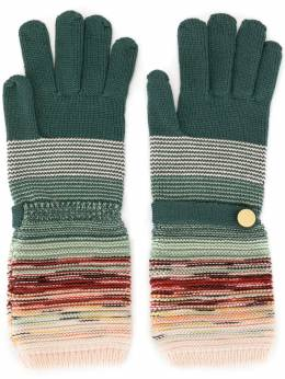Missoni Knit Gloves with Button MDS00184BK00A8