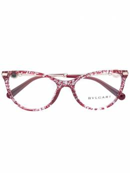 Bvlgari очки в оправе 'кошачий глаз' 4162