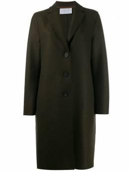 Harris Wharf London single breasted coat A1331MLK