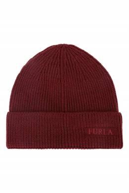 Шапка Diletta бордового цвета Furla 1962161743