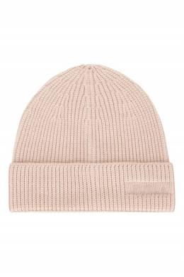 Розовая шапка в рубчик Diletta Furla 1962161737