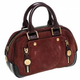 Louis Vuitton Brown Suede Limited Edition Havane Stamped Trunk PM Bag 238559