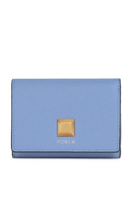 Голубой кошелек из кожи Furla 1962161683