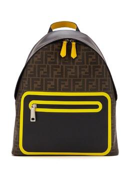 Рюкзак комбинированного дизайна с монограммами FF Fendi 1632162505