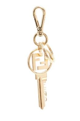 Брелок в форме ключа с логотипом FF Fendi 1632162500