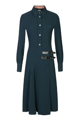Синее платье с ремешками Paul Smith 1924162889