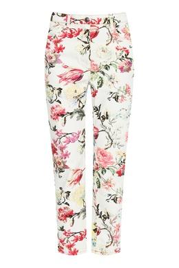 Белые джинсы с принтом Etro 907162012