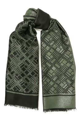 Двухцветный шарф с монограммами Etro 907162015
