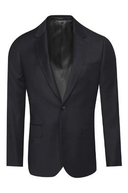 Черный шерстяной костюм Paul Smith 1924162871