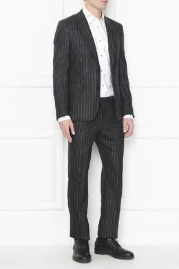 Шерстяной костюм в полоску Paul Smith 1924162862