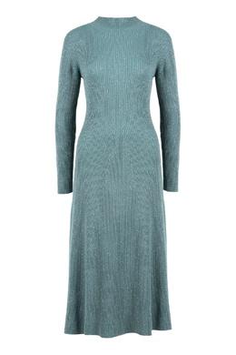 Голубое платье в рубчик Fabiana Filippi 2658163003