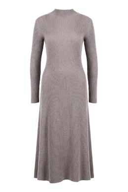 Платье в рубчик сиреневого цвета Fabiana Filippi 2658163004