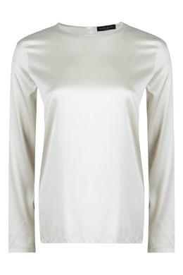 Блуза из атласной ткани Fabiana Filippi 2658163015