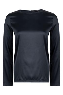 Блуза из шелка черного цвета Fabiana Filippi 2658163019