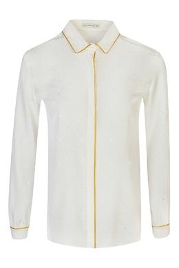 Блуза из шелка цвета айвори Etro 907162993
