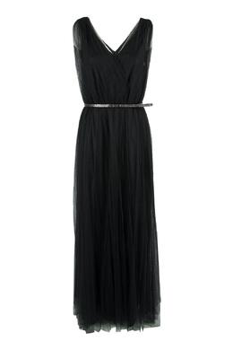 Черное платье из тюля Fabiana Filippi 2658163058