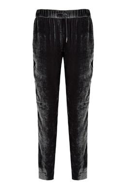 Серые брюки из бархата Fabiana Filippi 2658163050