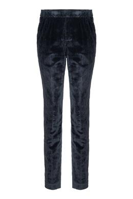 Вельветовые брюки серого цвета Fabiana Filippi 2658163052