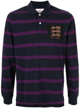 Kent & Curwen рубашка-поло с длинными рукавами K40H8E107027