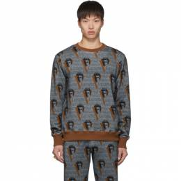 Undercover Grey Valentino Edition Printed Sweatshirt 192414M20401101GB