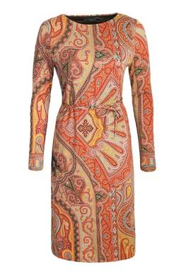 Миди-платье из шерсти с узором Etro 907159092