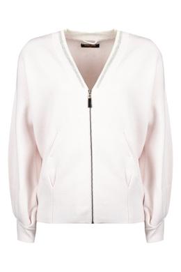 Трикотажный бомбер бледно-розового цвета Max & Moi 2919162559