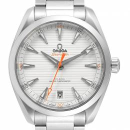 Omega Silver and Stainless Steel Seamaster Aqua Terra 220.10.41.21.02.001 Men's Wristwatch 41MM 240156