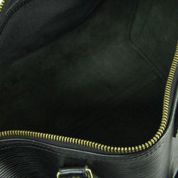 Louis Vuitton Noir Epi Leather Speedy 30 Bag 240868