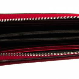Cartier Red Leather Les Must Envelope Wallet 241052