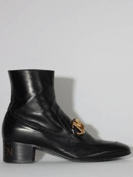 Leather Booties Gucci 70IXFZ022-MTAwMA2